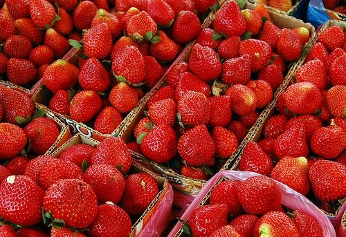 Strawberries for Ice Cream