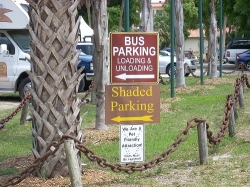 Where to park at the Fountain of Youth Florida