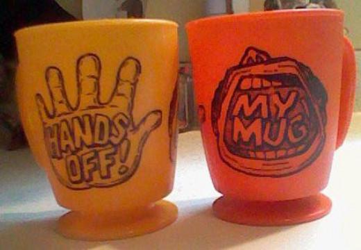 These were part of a fund raiser way back when.
