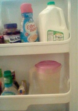 Water in the Fridge