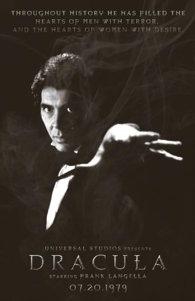 Langella's Dracula Poster by 4gottenlore.deviantart.com