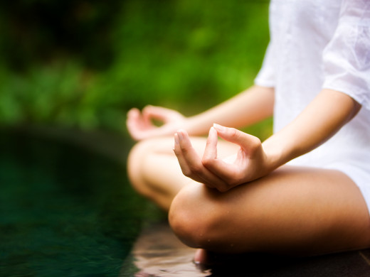 Meditation is nothing without deep breathing.