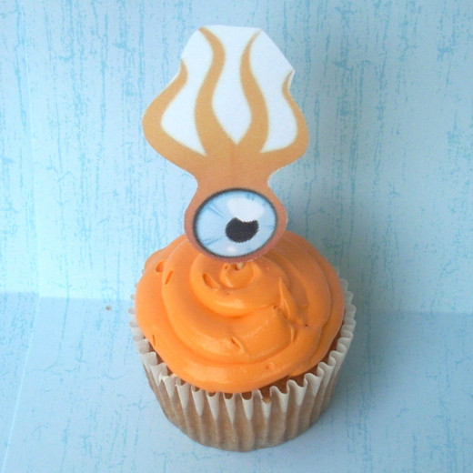 Cupcakes with Squid picture