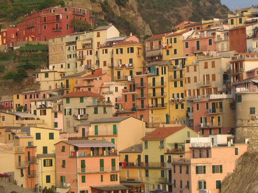 Manarola - A village built on a cliff by the sea