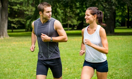 Jogging is another state of mind, so we need to add proper breathing.