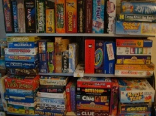 Some of our Board Games