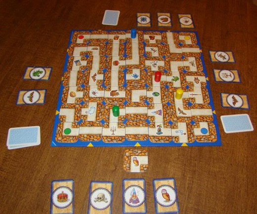 labyrinth ravensburger how to play