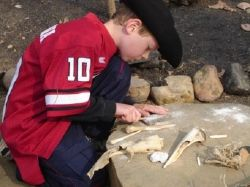 Hands-on learning at Jamestown