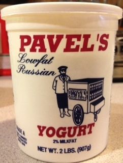 I also like to use Pavel's Russian Yogurt instead of Greek Yogurt.