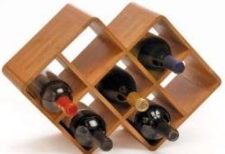 small counter wine rack