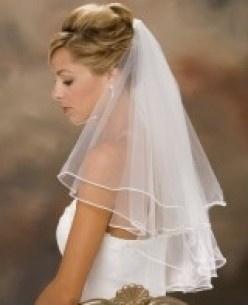 Creating a Wedding Veil Keepsake