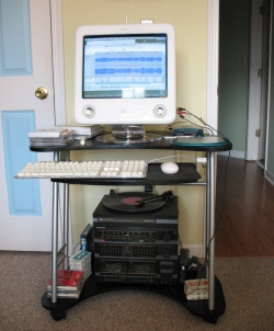 I used my older eMac to digitize my records.