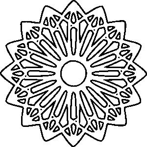 Mandala Color Sheet