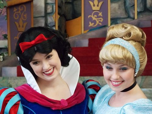 Snow White and Cinderella