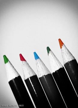 Coloring Pencils Picture