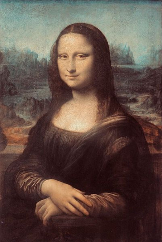 Portrait of the Mona Lisa