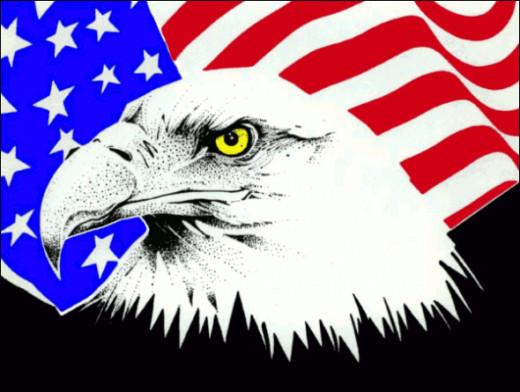 American Eagle Flag