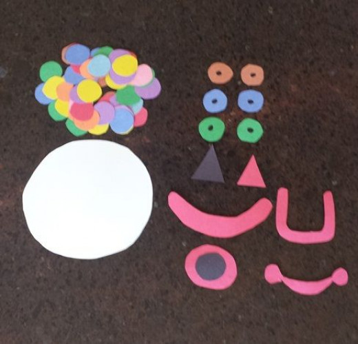 Clown Craft for Kids
