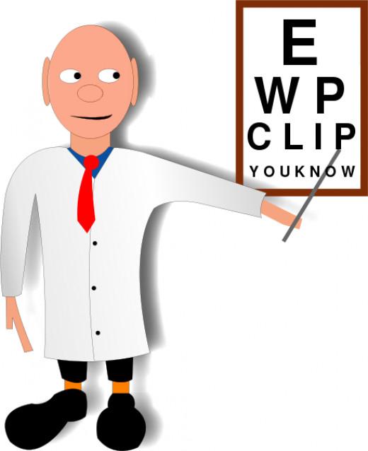 Eye Doctor Cliparto