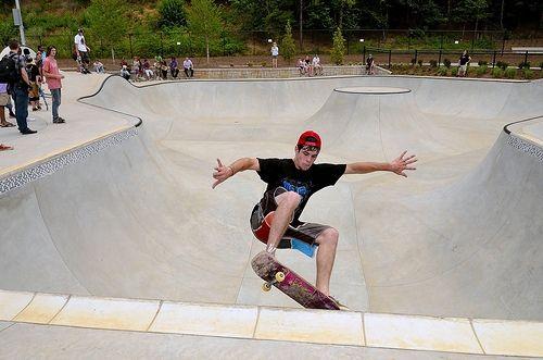 Skateboard Park Picture