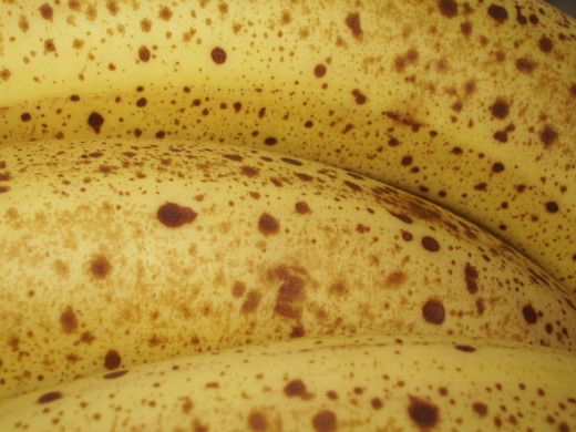 This neato ripe banana photo is from Smabs Sputzer, used under Creative Commons license.