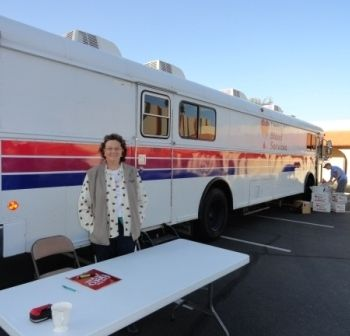 Blood Drive Volunteer, Alison