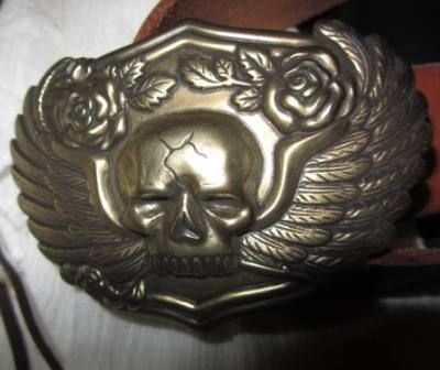 A Great Pirate Belt Buckle