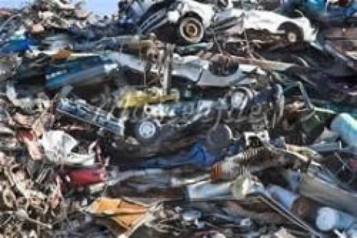 Cars Dumped in Landfill