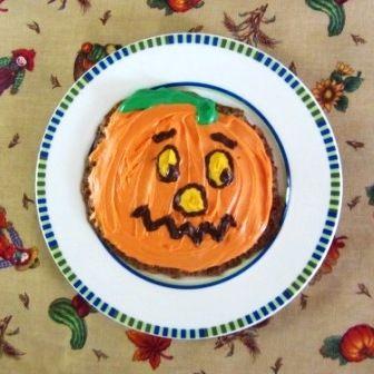 Jack O Lantern Jumbo Cookie