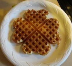 5 heart waffles