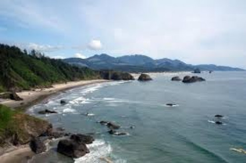 Cannon Beach is a famous beach off the Oregon Coast. It's beautiful and has a long history behind it. Whether your fishing, swimming or wanting to learn about the past, this beach is worth the visit.