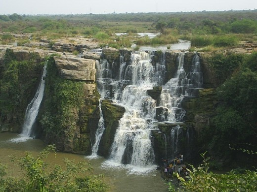Nagarjuna Sagar Water Fall, near Hyderabad