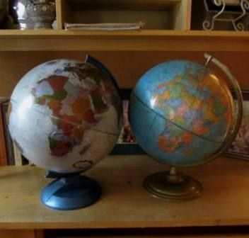 Nancia's Old and New Globes