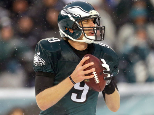 Nick Foles will attempt to lead the Eagles deeper into the playoffs in his second year as starter