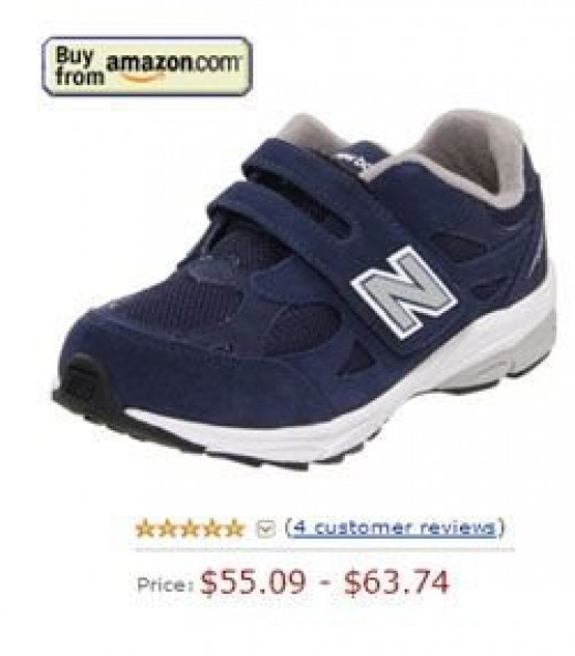 New Ballance sneakers without laces for boys