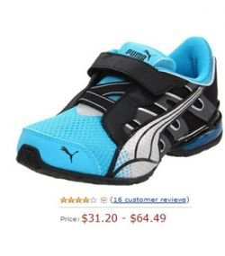 Voltaic 3 V from Puma velcro running shoes for boys