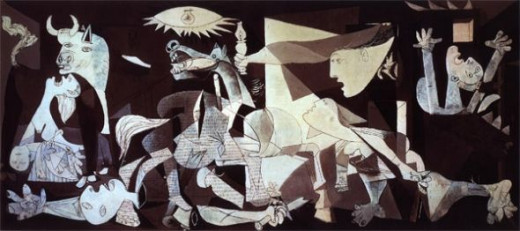 The Guernica by Pablo Picasso