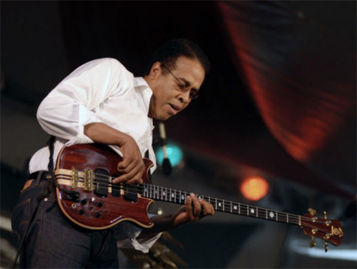 greatest funk bass players - Stanley Clarke Band