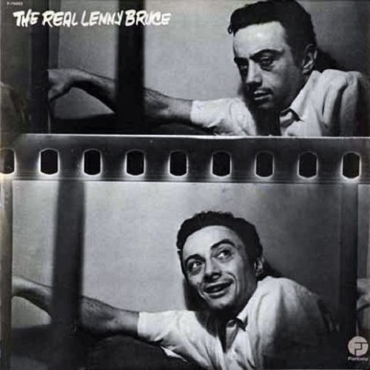 "Lenny Bruce ""The Real Lenny Bruce"" Fantasy Records F-79003 12"" LP Vinyl Record, US Pressing (1975)"