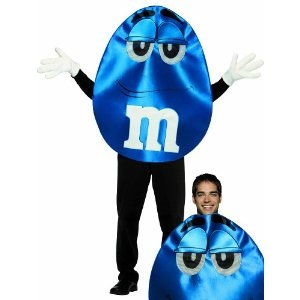 Blue M&M costume