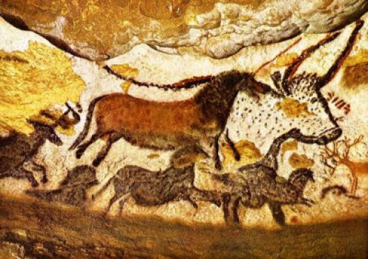 The cave drawings of Lascaux are estimated to be 17,300 years old
