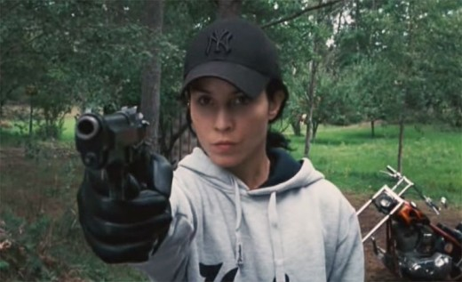 Noomi Rapace in The Girl Who Played With Fire. - Hacker hoodie fashion.