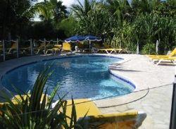 Quiet pool area at Cap Caraibes