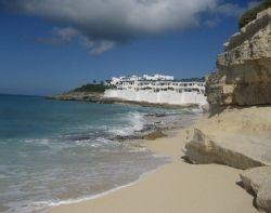 View from Cupecoy Beach Dutch St. Maarten