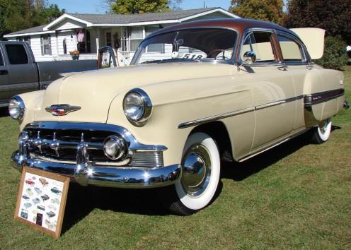 A 1953 Chevy Bel Air