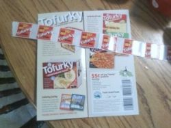 Turtle Island Foods Tofurky Coupons I received
