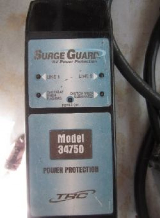 This is an RV Surge Protector - Photo by Me! Kathy T!