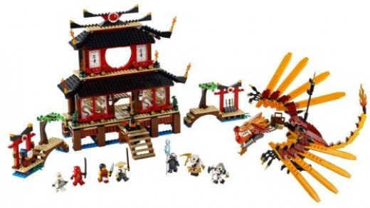 Lego Ninjago Fire Temple 2507