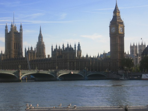 Big Ben and the Houses of Parliament, London England