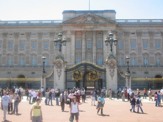 Buckingham Palace, London England